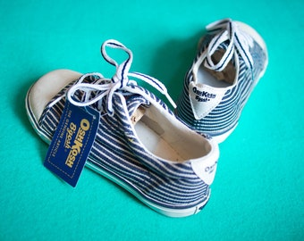 Kid's Vintage 90's Osh Kosh B'Gosh Stripe Plimsolls