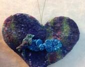 Handmade felted wool love...