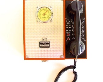 Vintage Cigar Break Humidor and Phone