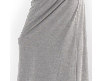 Gray long skirt, Gray skirt, Gray skirt plus size, Grey long skirt, Grey skirt, Grey skirt plus size, Maxi skirt, Skirt, Woman skirt