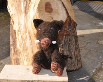 Wild boar crochet