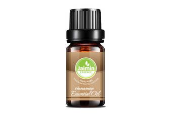 Cinnamon Essential Oil - Jaimin Essence - Pure Cinnamon Oil - Aromatherapy Oil - Therapeutic Grade - Pure Essential Oil