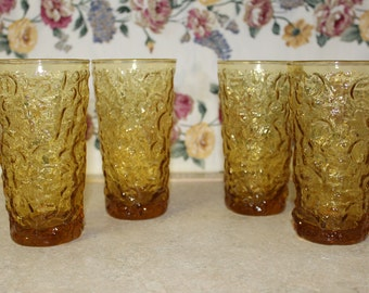 Set of 4- 12 ounce Tumblers in Milano by Anchor Hocking *Shipping Included*
