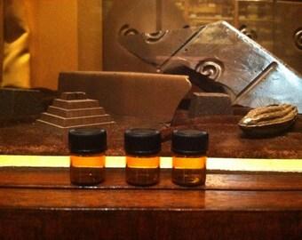 Three perfume sample pack