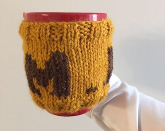 Knit cup holder Etsy