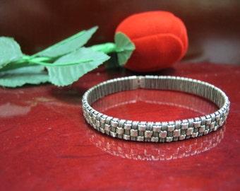 Vintage sterling silver bracelet 925