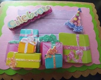 3D Happy Birthday Card