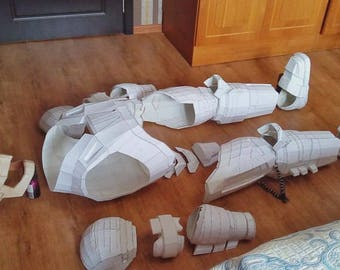 BATMAN ARMOR (PAPER Need To Finish)