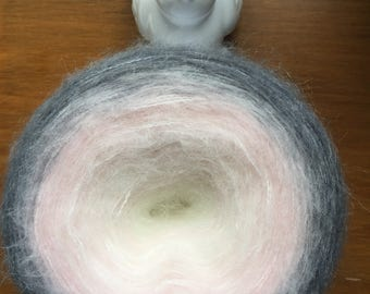 Sale yarn / Gradient yarn / yarn / acrylic yarn / hand spun yarn / 4 thread yarn / degrade yarn /hand knitting yarn / crochet yarn / winter