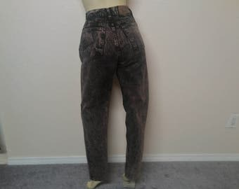 "Levi's High Waist Acid Washed Women's Jeans High Waist 27"" Length 32"""