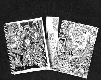 Pack Mercromineroh: Fanzine Manuale d'amore + living book Berlin