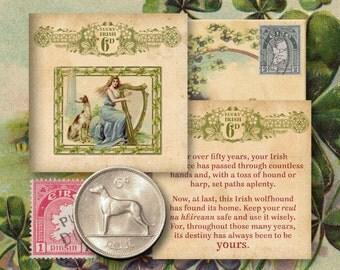 Lucky Irish Vintage Sixpence (Reul)