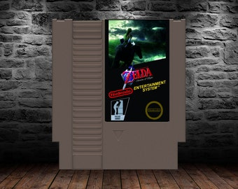 Legend of Zelda Shadow of Night - Discover the curse and break the spell in an all new LoZ adventure - NES