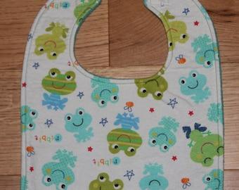 Frogs Baby Bib