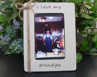 Grandpa picture frame, Grandparent frame, Keepsake gift, Grandpa photo frame, Grandpa gift, Grandpa frame, frame for Grandpa, Father's day.