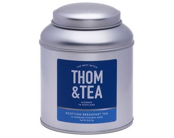 Tea Caddy - Scottish Breakfast Tea