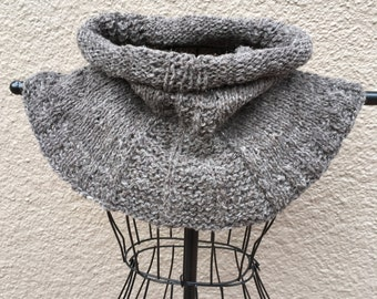 Hand Knit with Handspun Yarns - Cowl
