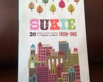 Retro Hipster Funky Iron-On designs by Sukie, Fabric Transfers