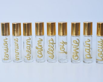 10ml Roller Balls GOLD Super Family Collection - Set of 9