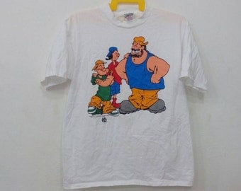 Rare!! Vintage Popeye the sailor man L size