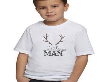 Little Man Shirt