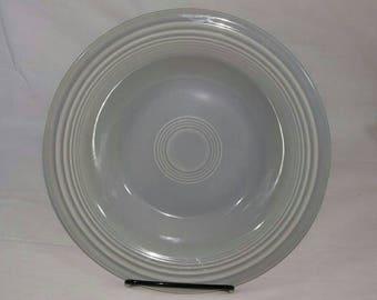 Vintage Fiesta - Gray Deep Plate #2