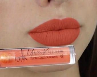 Mattekiss 24 Hours Long Lasting Marigold Matte Liquid Lipstick