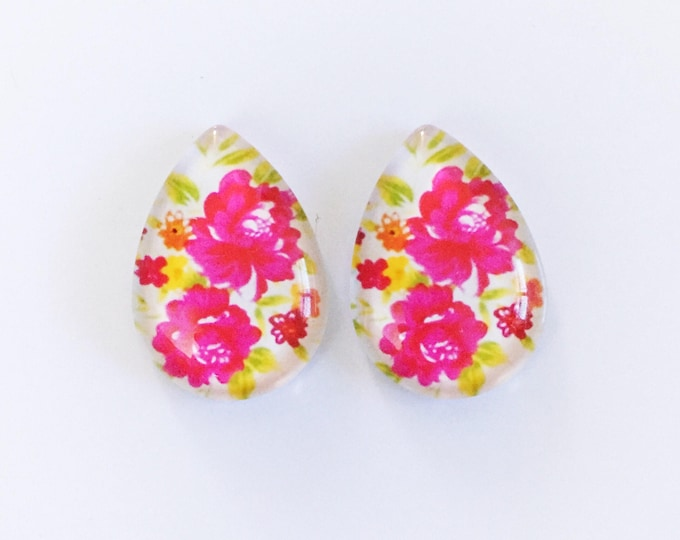 The 'Tahnee' Glass Statement Studs