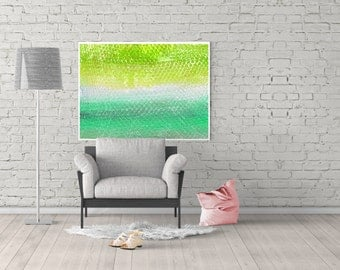 abstract poster - modern green poster - wall art living room - abstract painting - wall art prints - minimalist painting - abstract poster