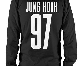 BTS Jung Kook 97 - Unisex Longsleeve Shirt