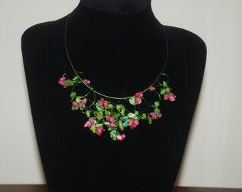 Necklace RASPBERRY