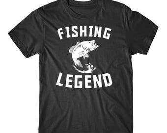 Fishing Legend Bass Fishing T-Shirt