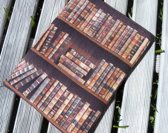 Book Sleeve, Book Fabric cover, book pouch, paperback book sleeve, Fabric book cover, book lover gift, Book Gift for Him