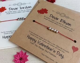 Valentine Card Personalized, Valentines Wish Card, Valentines Card Wife, Valentines Card Husband, Valentine Girlfriend, Valentines Day Card