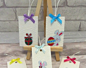 Easter gift tags easter tags spring wedding favor easter gift tags easter name tags easter egg hunt negle Image collections