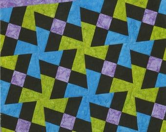 Railroad Crossing Quilt Pattern