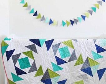 Fade Away Quilt Pattern
