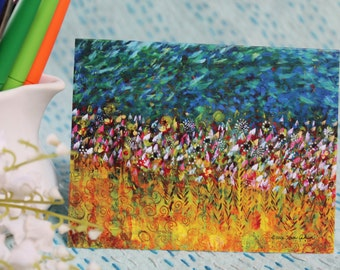 Fields of Gold Notecards