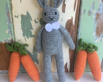 MADE TO ORDER - Crochet Carrot Amigurumi/Pretend Play Food Vegetable