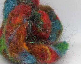 Multicolour Flower Brooch
