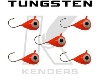 5 Pack - Kenders Tungsten Bright Orange Glow