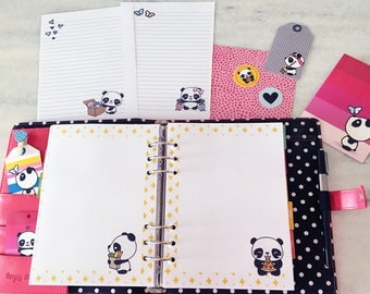 Insertion Kit and Panda Stationery Routine A5