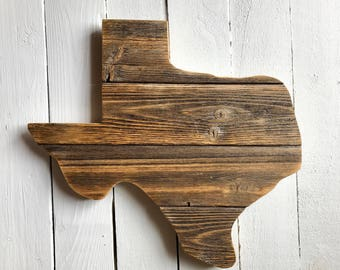 Small Rustic Texas Sign