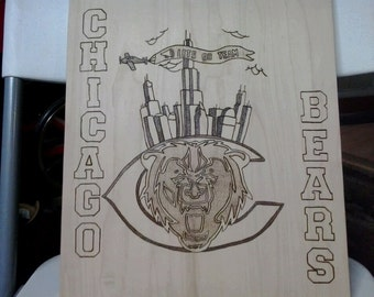 Chicago Bears Wall Art