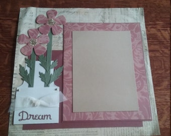 Homemade Scrap Sheet Page