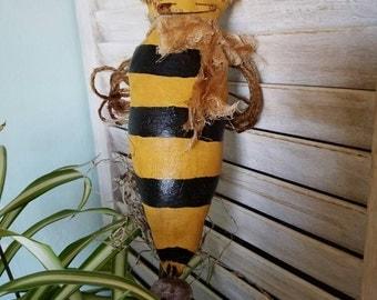 Primitive Bumblebee on a Stick