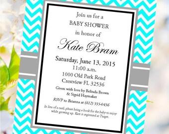 Digital Baby Shower Invitation