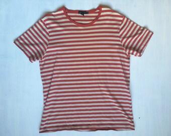 VTG striped Club Monaco tshirt size XL
