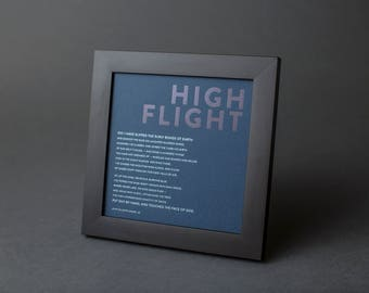High Flight Inspirational Poem