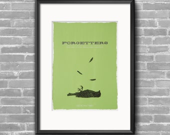 Forgetters Silkscreen Show Poster